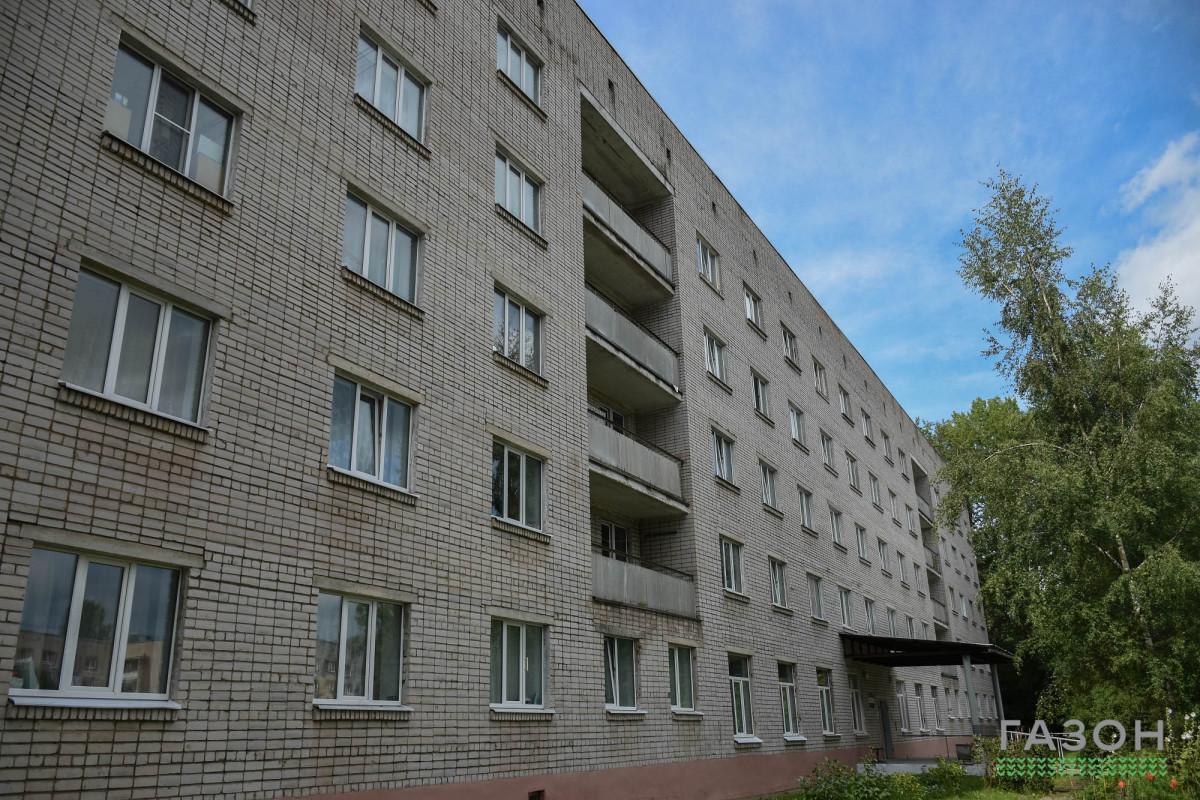 Общежитие №3 (Парковая улица)