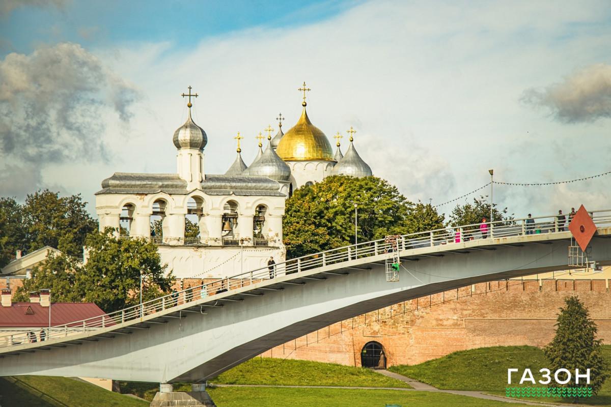 Пешеходный мост в Великом Новгороде планировали построить из дерева