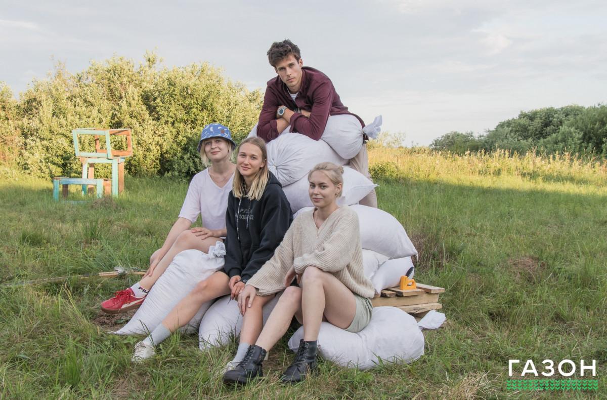 Новое место для летних вечеринок: поляна с сумасшедшими инсталляциями «Дереза»