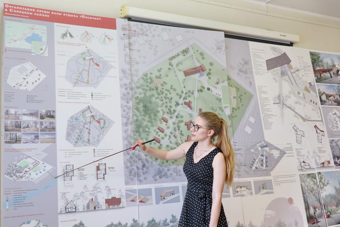 Коворкинг в НовГУ и обновлённая база отдыха в Песочках: три проекта молодых дизайнеров для вуза