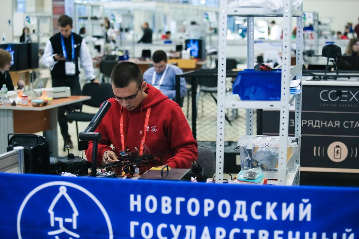 Новгородская команда завоевала золото и бронзу финала межвузовского чемпионата WorldSkills