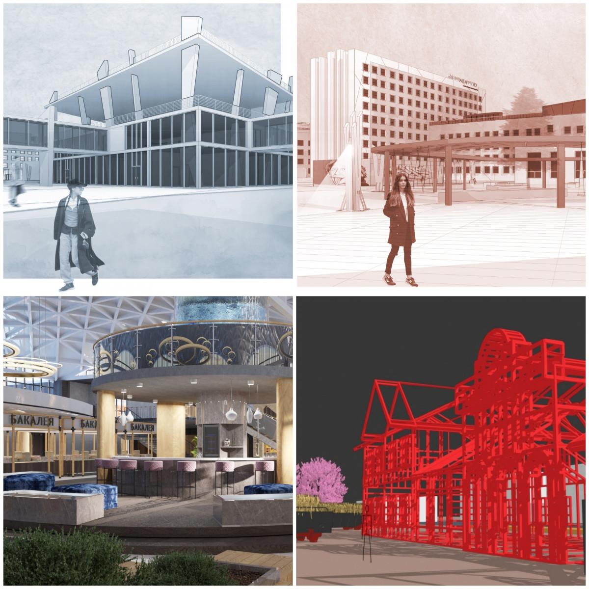 Реконструкция вокзала и университета: Дипломные проекты новгородских студентов