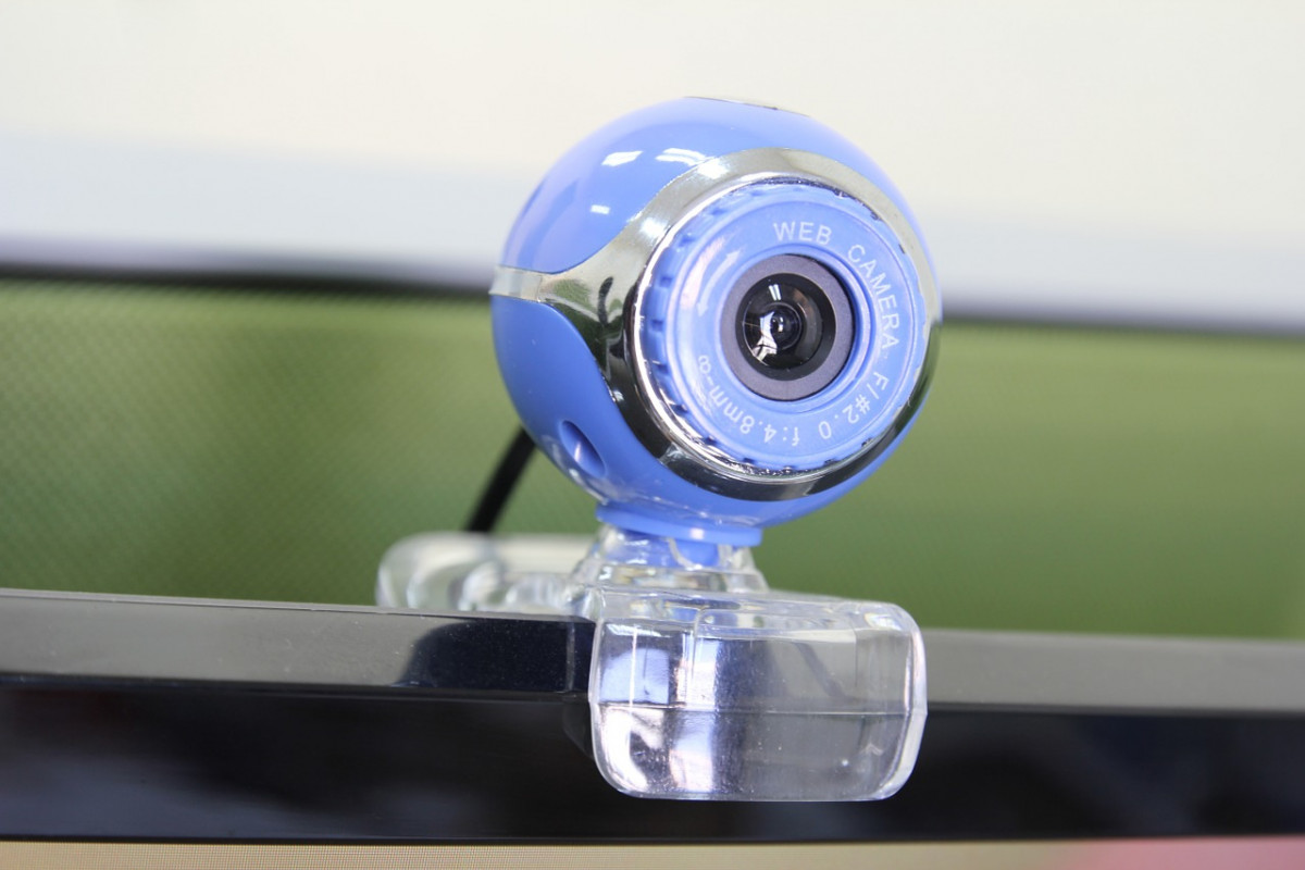 Broadcast my webcam