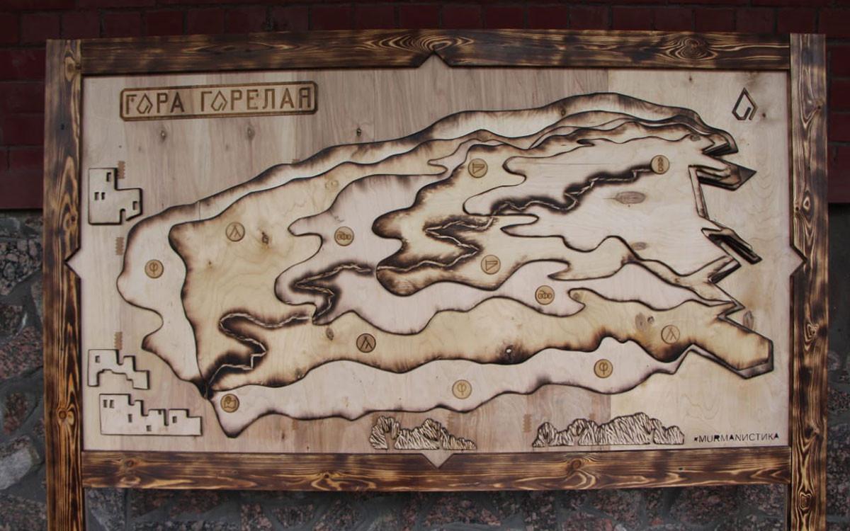 Новгородские студентки создали проект многоуровневой экотропы по горе Горелой в Мурманске
