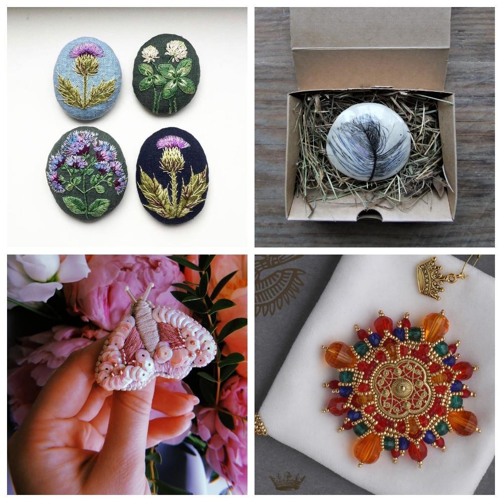 С вышивкой, керамикой и растениями: Пять новгородских дизайнеров о создании украшений
